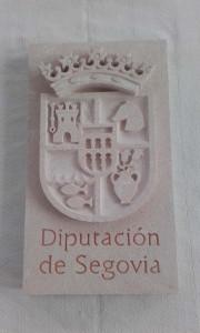 Escudo de la Diputación Provincial de Segovia.