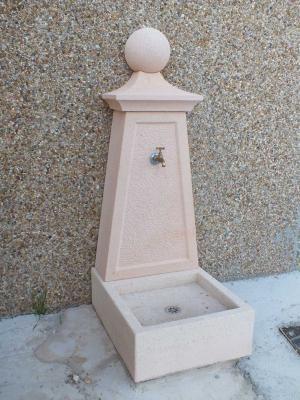 Fuente elaborada en Piedra Rosa Sepúlveda.