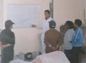 Centro Experimental de Formación Profesional de Cajamarca - PERÚ - años 1999 y 2000.