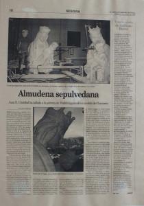 Periódico el Adelantado de Segovia - 29 de octubre 1999.