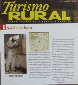 Revista Turismo Rural - Junio 2002.