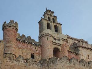 Vista general del Castillo restaurado de Turégano (Segovia).