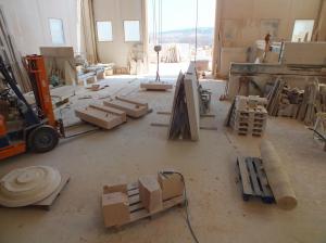 Interior de nuestro taller.