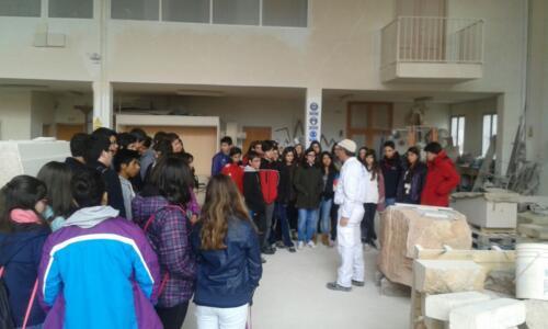 Alumnos de los colegios del Nordeste de Segovia.