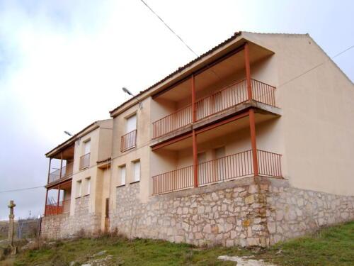 Viviendas de la Diputación Provincial de Segovia en Sepúlveda.
