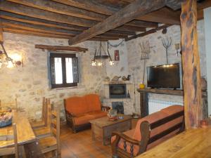 Salón del alojamiento de Turismo Rural, El Duratón en Urueñas (Segovia).