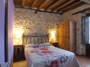 Habitación del alojamiento de Turismo Rural La Pedriza en Urueñas (Segovia).