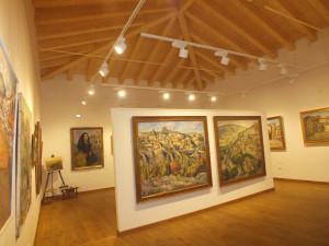 Interior del Museo Lope Tablada de Diego en Sepúlveda (Segovia).