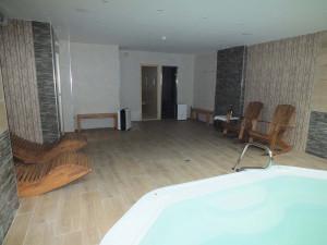 Sala de Spa - Hotel Rural Puente del Duratón en Sepúlveda (Segovia).