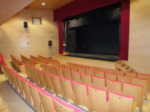 Interiores del Teatro Bretón de Sepúlveda.