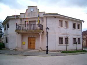 Casa consistorial de Barbolla (Segovia).