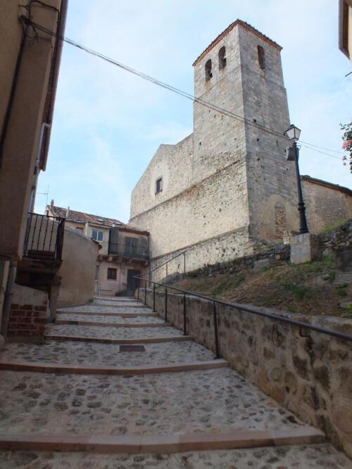 Pavimentación y mejoras del entorno de la Iglesia de San Bartolomé de Sepúlveda.