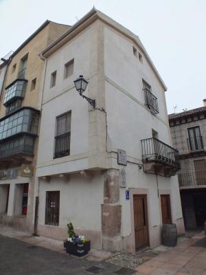 Rehabilitación de edificio en la Plaza Mayor de Sepúlveda.