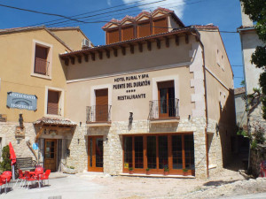 Edificio de nueva construcción en Sepúlveda (Segovia) para Hotel Rural y Spa.