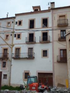 Edificio rehabilitado en Sepúlveda (Segovia).