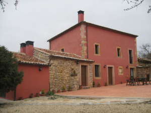 Casa rehabilitada en Aldehuelas (Segovia).