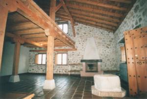 Casa rehabilitada en La Nava – (Segovia). Interior.
