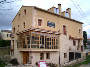 Casa rehabilitada en Sepúlveda convertida en Centro de Turismo Rural.