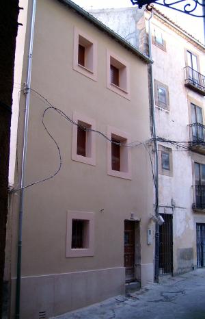 Casa rehabilitada en Sepúlveda.