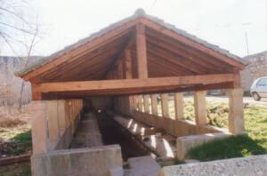 Restauración de la cubierta de la fuente del lavadero de Sepúlveda.