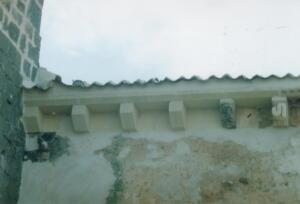 Restauración de cornisa y cubierta en la Iglesia de El Olmo (Segovia).