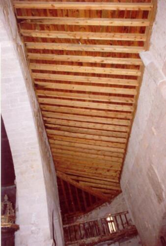 Restauración de la iglesia de los Santos Justo y Pastor de Sepúlveda.