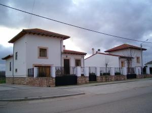 Edificio construido en Barbolla (Segovia).